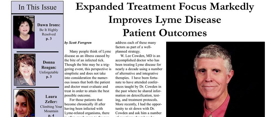 Lee Cowden - Expanded Treatment Focus Markedly Improves Lyme Disease Patient Outcomes