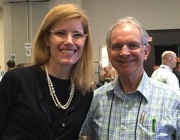Kristine Gedroic MD and Alan Vinitsky MD